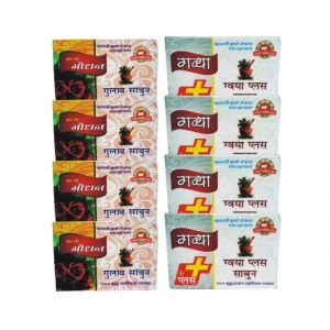 Godhan Rose With Plus Soap (Pack Of 8) Pathmeda